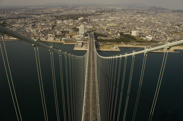 Akashi Bridge, Kobe, Japan
