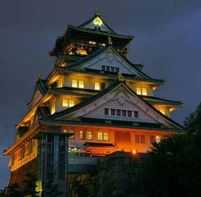 Himeji Castle, Osaka, Japan