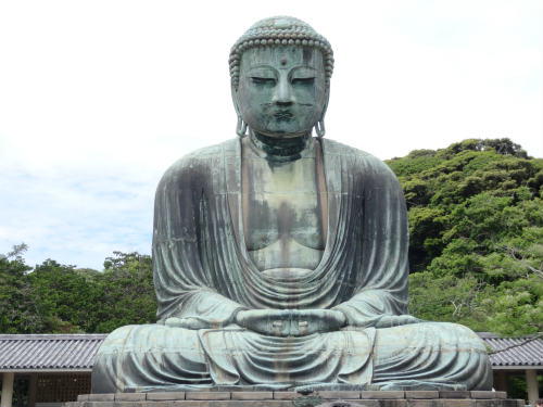 Kamakura Daibutsu, the Great Buddha, Japan